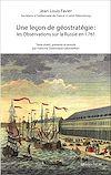 Une Leçon de géostratégie : les Observations sur la Russie en 1761