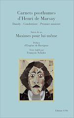 Download this eBook Carnets posthumes d'Henri de Marsay