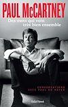 Télécharger le livre : Paul McCartney - Des mots qui vont très bien ensemble