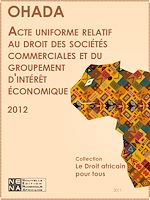 Download this eBook Acte uniforme relatif au droit des sociétés coopératives (AUDSC)