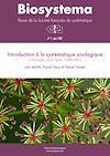 Télécharger le livre :  Biosystema : Introduction à la systématique zoologique - n°1/1987 (réédition 2014)