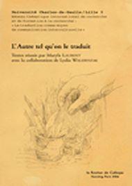 Téléchargez le livre :  L'Autre tel qu'on le traduit