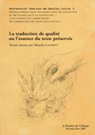 Téléchargez le livre :  La traduction de qualité