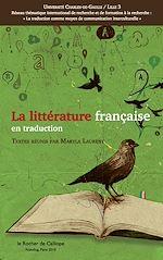 Téléchargez le livre numérique:  La littérature française en traduction