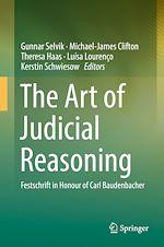 Download this eBook The Art of Judicial Reasoning