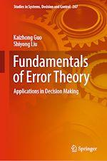 Téléchargez le livre :  Fundamentals of Error Theory