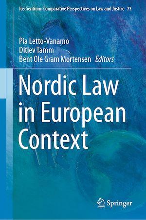 Téléchargez le livre :  Nordic Law in European Context