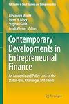 Télécharger le livre :  Contemporary Developments in Entrepreneurial Finance