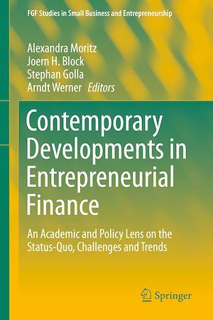 Téléchargez le livre :  Contemporary Developments in Entrepreneurial Finance