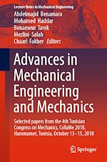 Download this eBook Advances in Mechanical Engineering and Mechanics