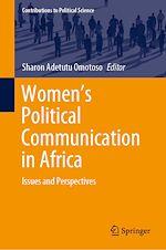 Téléchargez le livre :  Women's Political Communication in Africa