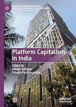 Téléchargez le livre :  Platform Capitalism in India