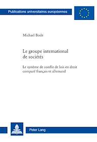 Téléchargez le livre :  Le groupe international de sociétés