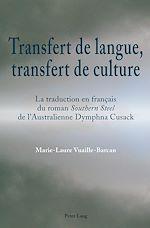 Download this eBook Transfert de langue, transfert de culture