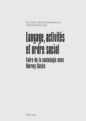 Téléchargez le livre :  Langage, activités et ordre social