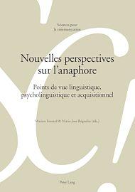 Téléchargez le livre :  Nouvelles perspectives sur l'anaphore