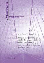 Download this eBook Pratiques et représentations sociales des langues en contexte scolaire plurilingue