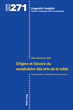 Download this eBook Origine et histoire du vocabulaire des arts de la table