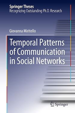 Temporal Patterns of Communication in Social Networks