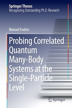 Probing Correlated Quantum Many-Body Systems at the Single-Particle Level