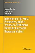 Download this eBook Inference on the Hurst Parameter and the Variance of Diffusions Driven by Fractional Brownian Motion