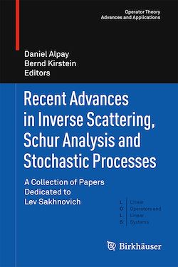Recent Advances in Inverse Scattering, Schur Analysis and Stochastic Processes