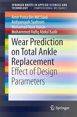 Wear Prediction on Total Ankle Replacement