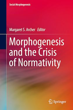 Morphogenesis and the Crisis of Normativity