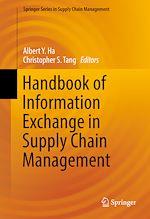 Download this eBook Handbook of Information Exchange in Supply Chain Management