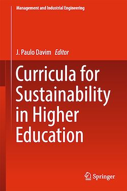 Curricula for Sustainability in Higher Education