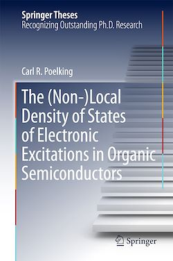 The (Non-)Local Density of States of Electronic Excitations in Organic Semiconductors