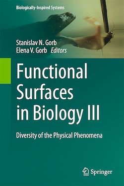 Functional Surfaces in Biology III