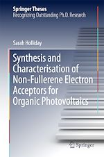 Download this eBook Synthesis and Characterisation of Non-Fullerene Electron Acceptors for Organic Photovoltaics