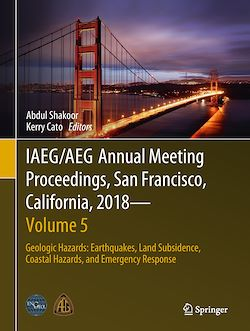 IAEG/AEG Annual Meeting Proceedings, San Francisco, California, 2018 - Volume 5