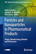 Download this eBook Particles and Nanoparticles in Pharmaceutical Products