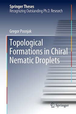 Topological Formations in Chiral Nematic Droplets
