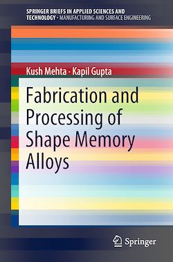 Fabrication and Processing of Shape Memory Alloys