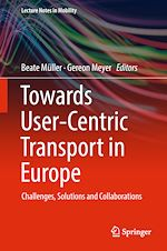 Download this eBook Towards User-Centric Transport in Europe