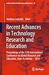 Download this eBook Recent Advances in Technology Research and Education