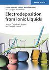 Télécharger le livre :  Electrodeposition from Ionic Liquids