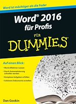 Download this eBook Word 2016 für Profis für Dummies