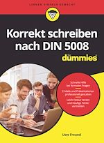 Download this eBook Korrekt schreiben nach DIN 5008 für Dummies