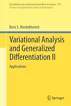 Variational Analysis and Generalized Differentiation II