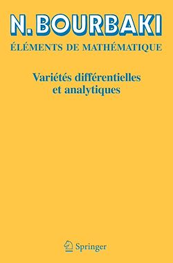 Variétés différentielles et analytiques