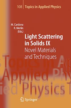 Light Scattering in Solids IX