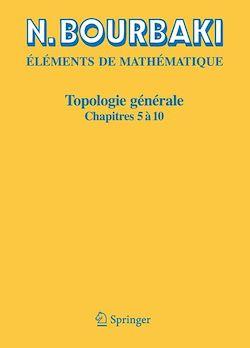 Topologie générale - 2
