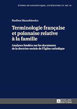 Téléchargez le livre :  Terminologie française et polonaise relative à la famille