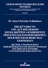 Télécharger le livre :  Die Kuendigung von auf die Person eines Dritten genommenen privaten Krankheitskostenpflichtversicherungsvertraegen