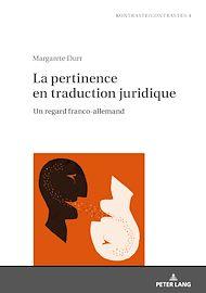 Téléchargez le livre :  La pertinence en traduction juridique