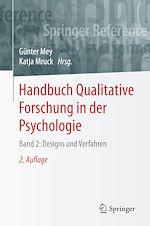 Téléchargez le livre :  Handbuch Qualitative Forschung in der Psychologie